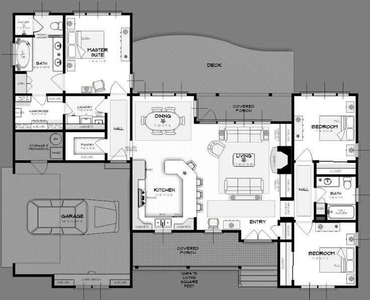 13 best home plans 2br 2015 images on pinterest ranch for Summerfield designs house plans