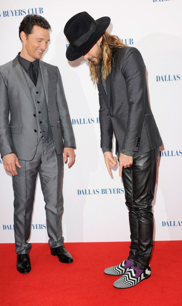 Jared Leto Nicholas Kirkwood Shoes 'Dallas Buyers Club' London ...