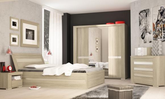 Romantyczna sypialnia Madras to połączenie subtelnej kolorystyki i bogatej formy :)