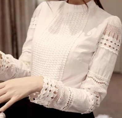 High Quality Lace Shirts Long Sleeves – Ecolo.luca