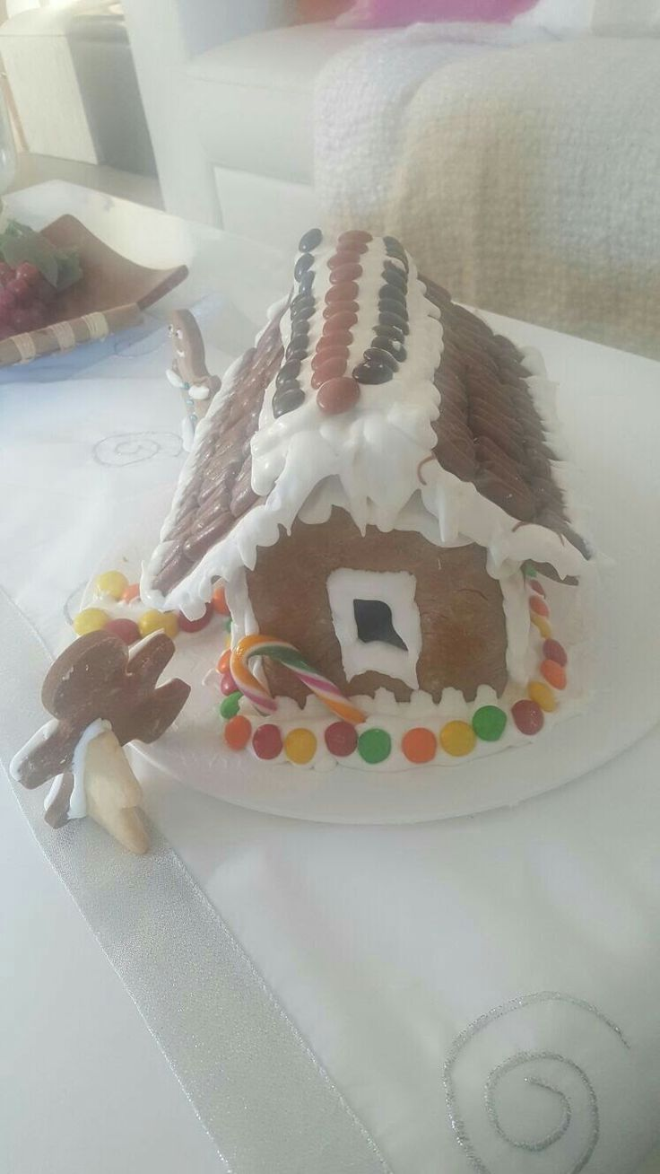 Gingerbread House we made.