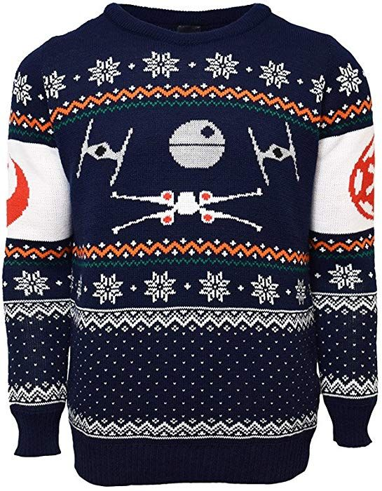 2fe66a8d X-Wing Vs. Tie Fighter Official Star Wars Christmas Jumper / Sweater (X  Small): Amazon.fr: Vêtements et accessoires | Klær | Christmas jumpers, ...