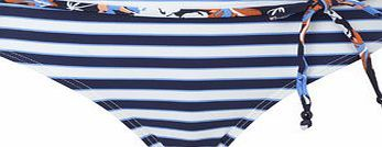 Bhs Womens Navy And White Beach Stripe Bikini This navy and white stripebikini bottomfeatures afloral beaded tie and is moderately cut so you can feel confident whether by the beach or pool. Wear with either our coordinating bandeau bikini top http://www.comparestoreprices.co.uk//bhs-womens-navy-and-white-beach-stripe-bikini.asp