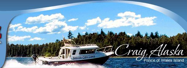 Southeast Alaska Fishing Lodge - Craig • Prince of Wales - Alaska Fishing Lodges
