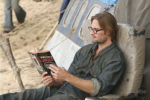 Sawyer. Gotta love a guy that reads. ;)