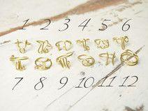Astrologiczny Pierścionek ze znakiem zodiaku
