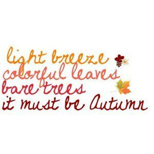 cute autumn quotes - Google Search