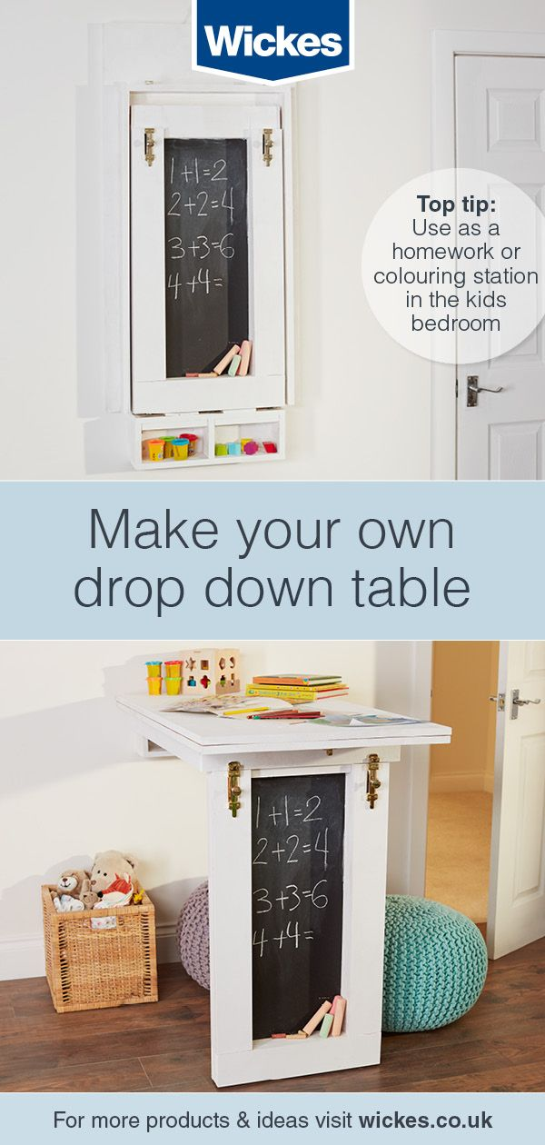 Make Your Own Drop Down Table Drop Down Table Furniture Project Plans Easy Furniture Plans