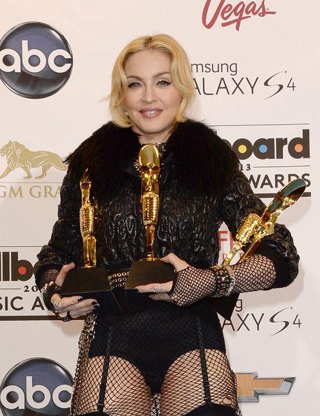 Madonna Photos - Press Room at the Billboard Music Awards - Zimbio