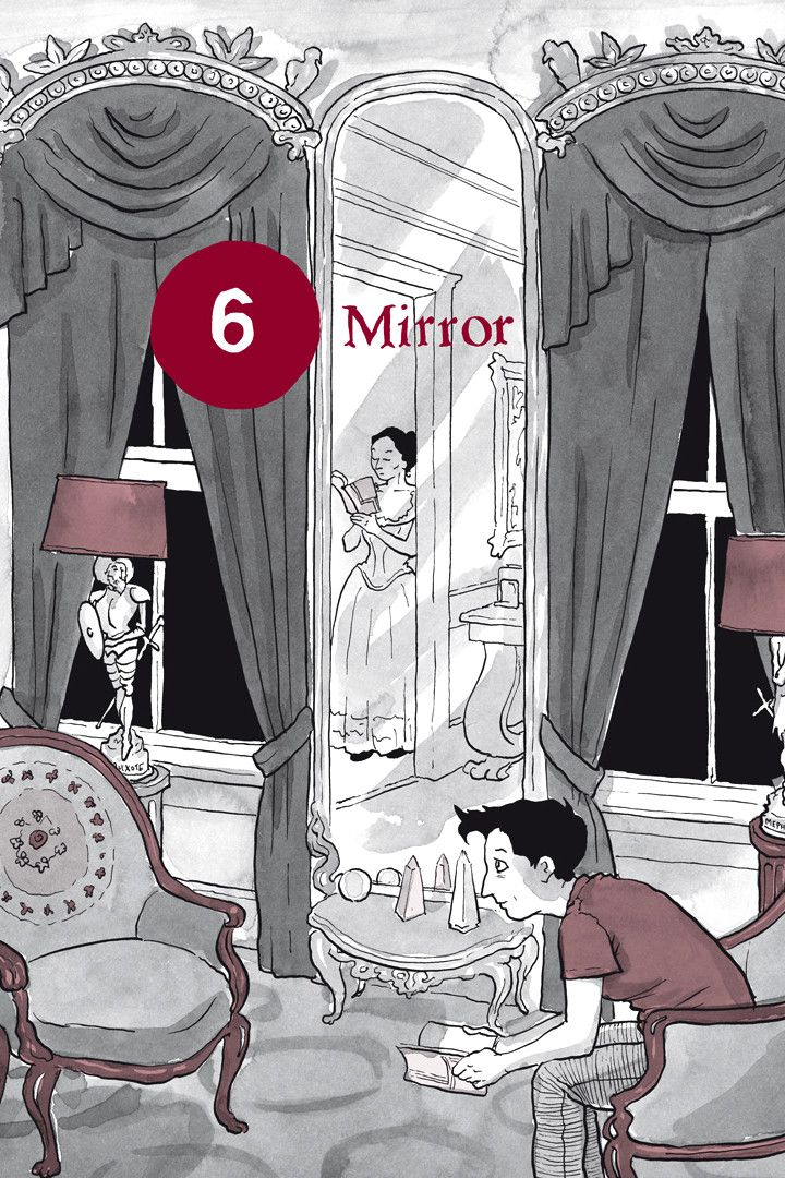 Chapter 6: Mirror from Alison Bechdel's graphic novel Are You My Mother