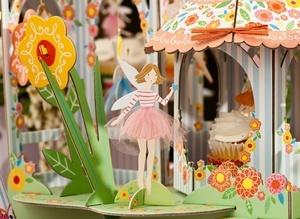Centerpiece from Meri Meri's Fairy Magic theme.