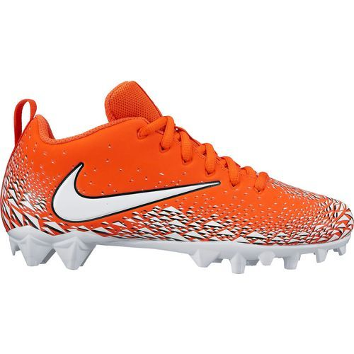 Nike Boys' Vapor Varsity Football Cleats (Team Orange/White/Black/White, Size 4) - Youth Football Shoes at Academy Sports