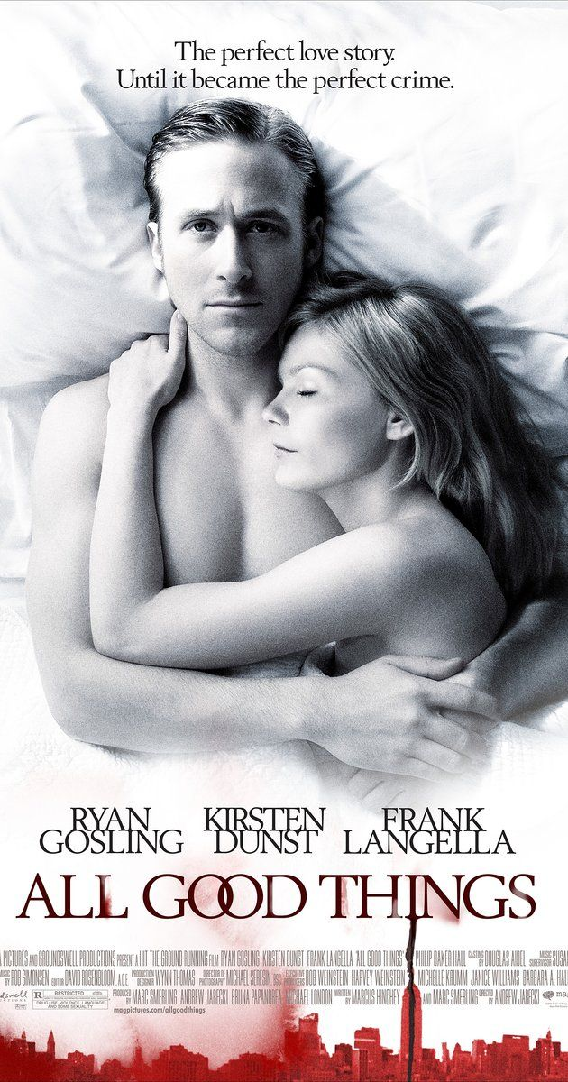 Directed by Andrew Jarecki.  With Ryan Gosling, Kirsten Dunst, Frank Langella, Lily Rabe. Mr. David Marks was suspected but never tried for killing his wife Katie who disappeared in 1982, but the truth is eventually revealed.