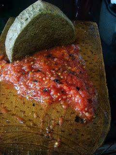 """My Blogs-Food Delights: Bihari Litti aur Tamatar Ka Chokha (Bihar's famous cusine """"Litti"""" with Tomato Salsa)"""