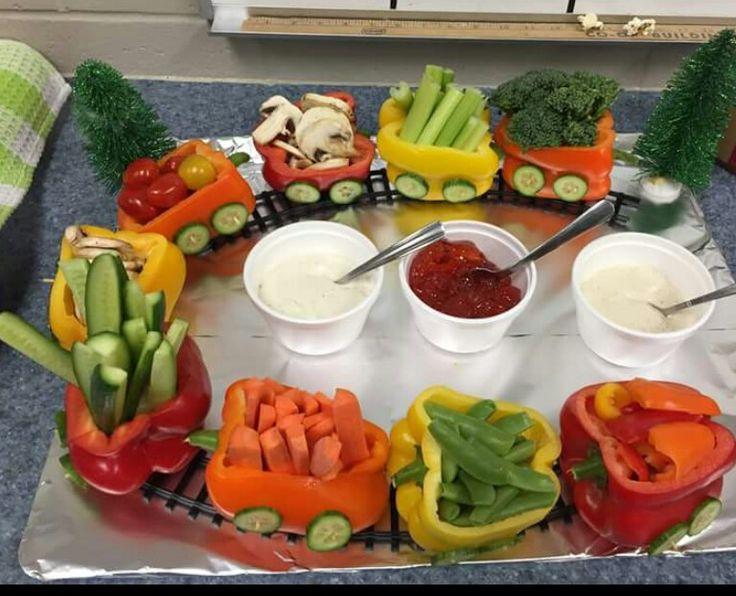 Veggie pepper train