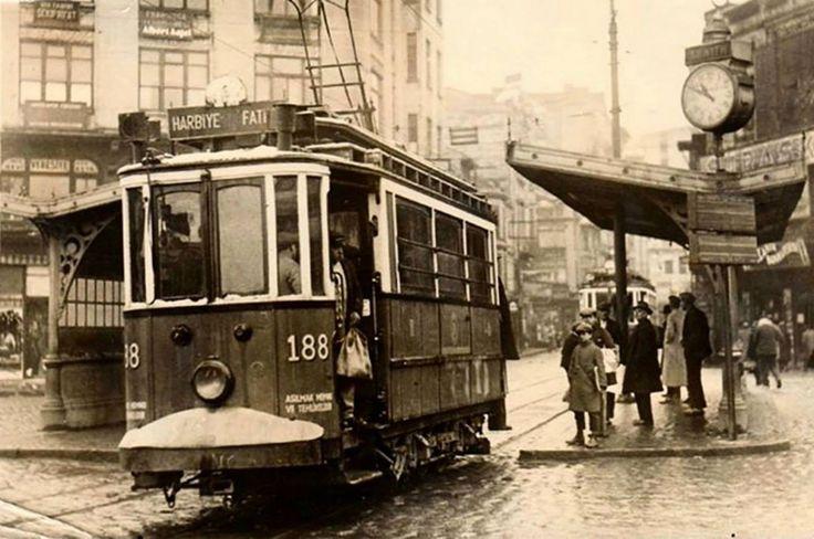 Bahçekapı: Fatih-Harbiye Tramvayı