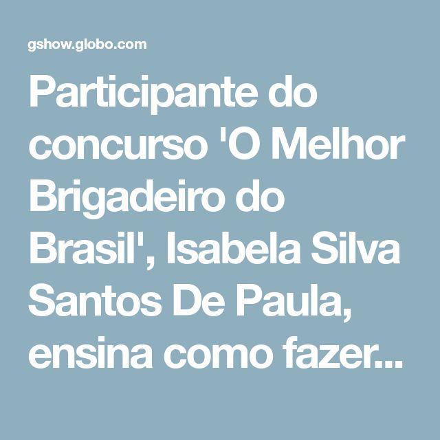 Brigadeiro De Pacoca Com Brigadeiro Amargo Receita Com Imagens