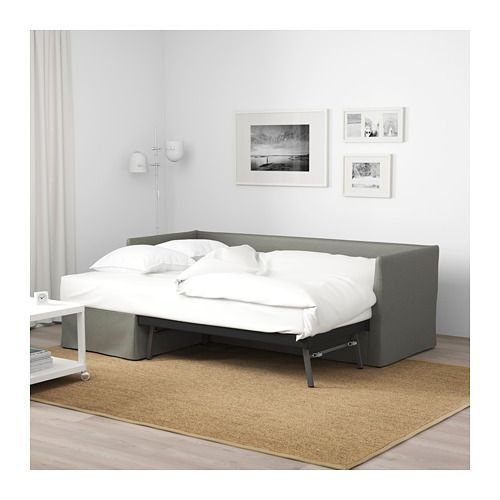 Borred Sectional3 Gray Sleeper Room Seat Bråthult GreenMaya's oexrBCd