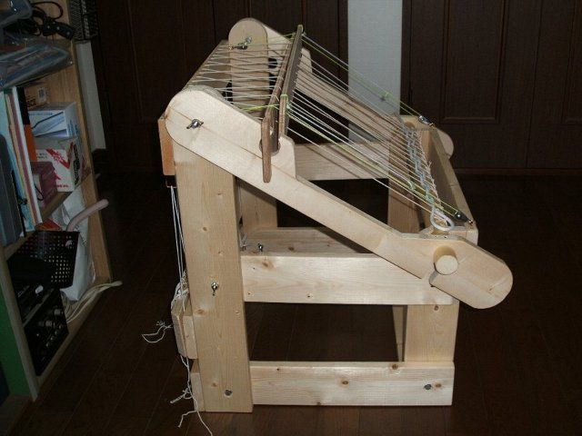 Home made loom Loom 2