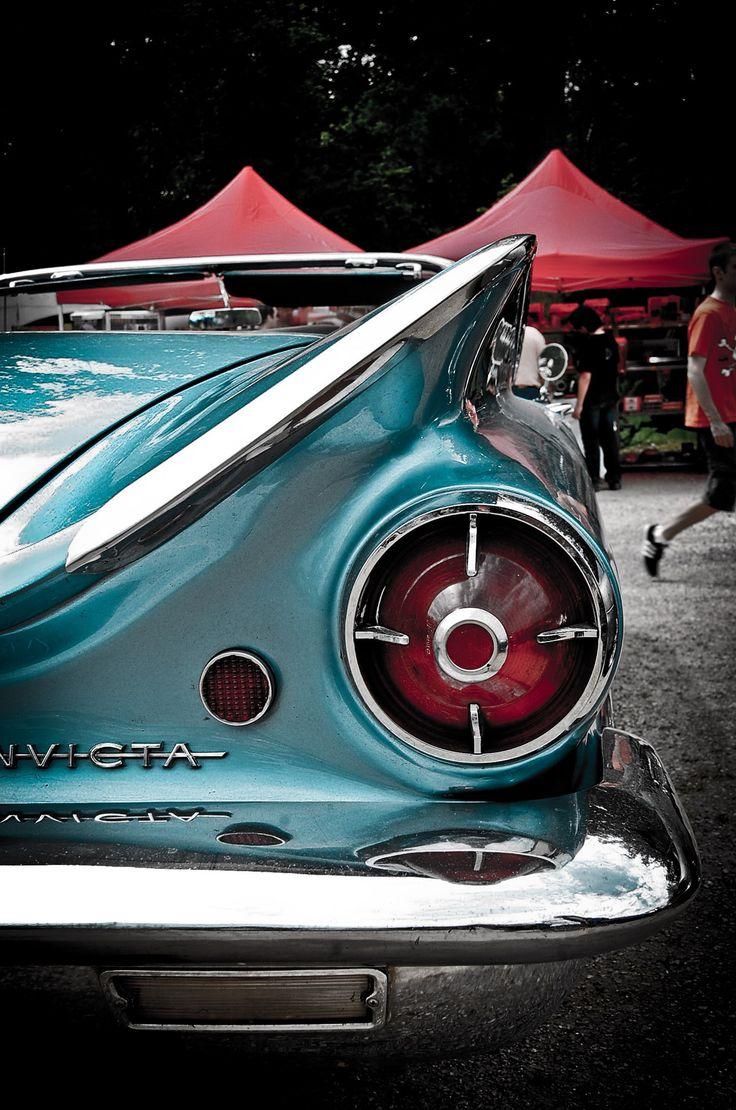 Vintage car chrome