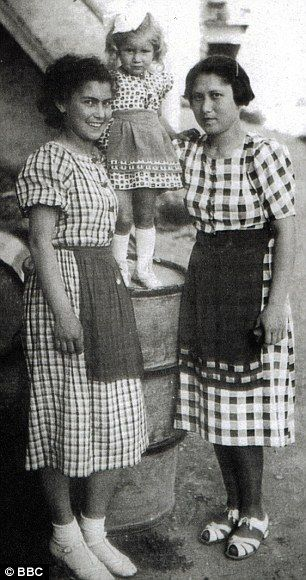 Saved: Helena Citronova (left) with her sister Rozinka and Rozinka's daughter. Helena's lo...