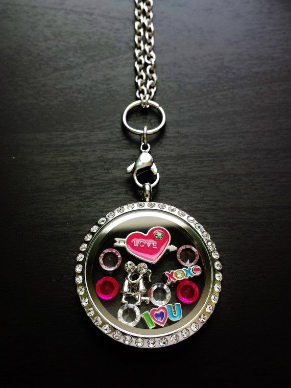 Floating Locket Necklace-Includes Large Floating Locket, Floating Charm, & Chain-Gift Ideas for Women