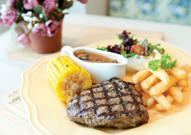 Ted's Tenderloin with Gravy Sauce #nannyspavillon #food #steak