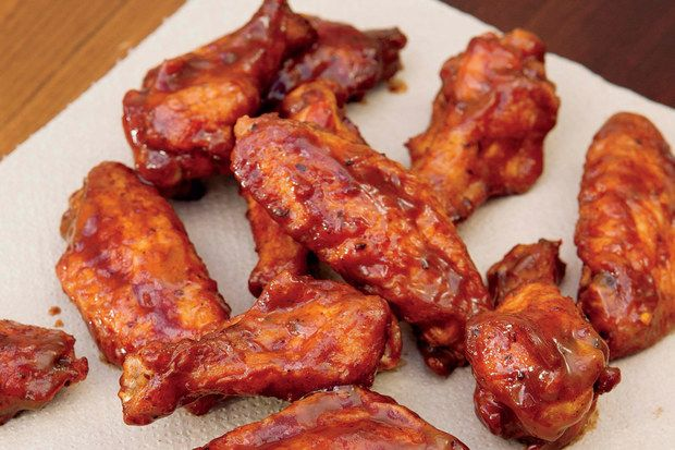 Smoked Whiskey Wings-substitute smoking process with liquid smoke?