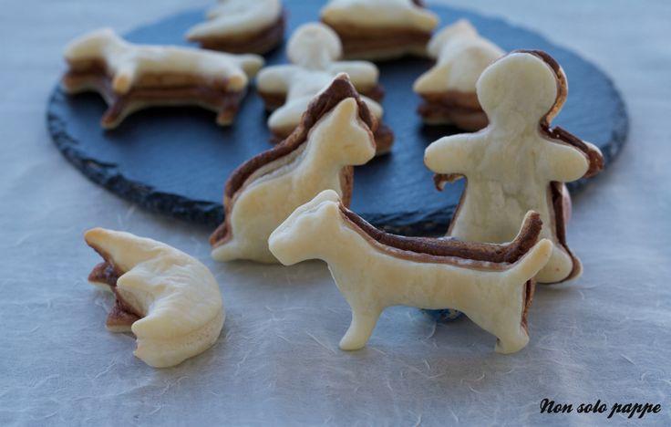 le sfoglie con la crema di nocciole, ideali per le merende dei bambini e dei loro amichetti.