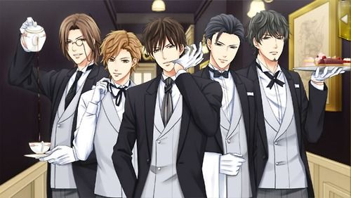 Kissed by the Baddest Bidder Substory Welcome to the Butler Cafe