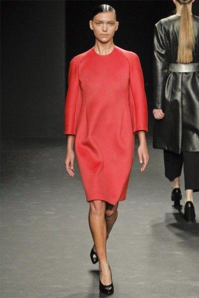 Calvin Klein Fall 2012: Klein Collection, Calvin Klein, Runway Fashion, Fashion Week, Fall 2012, Fw 2012, Winter 201213, In 2012, Bright Colors