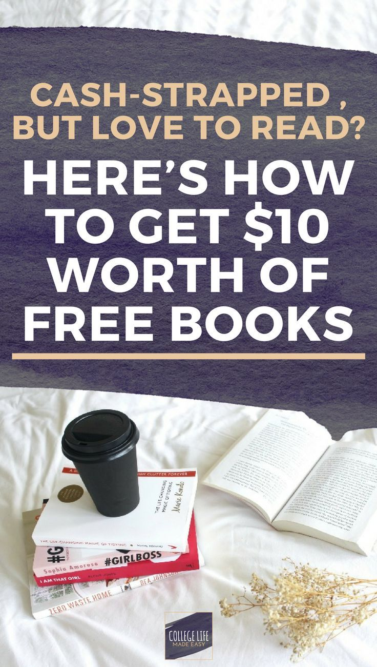 Here's How To Get $10 Worth Of Free Books