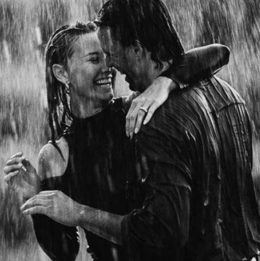 dancing in the rain with you...