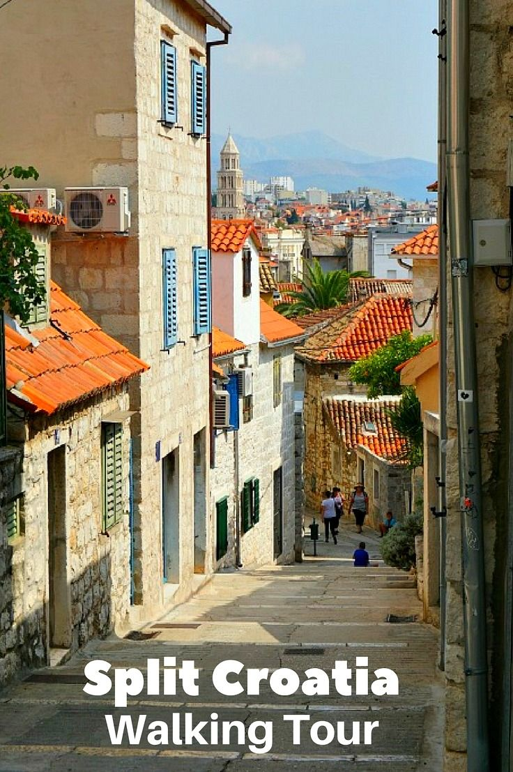 The Diocletian Palace and other top things to do in Split Croatia. Find the best places to eat and the most amazing panoramic view Split has to offer.