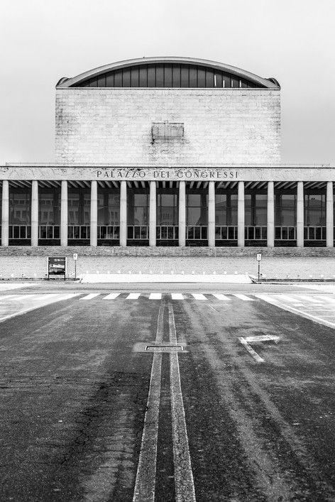#EUR #Roma - palazzo dei #congressi