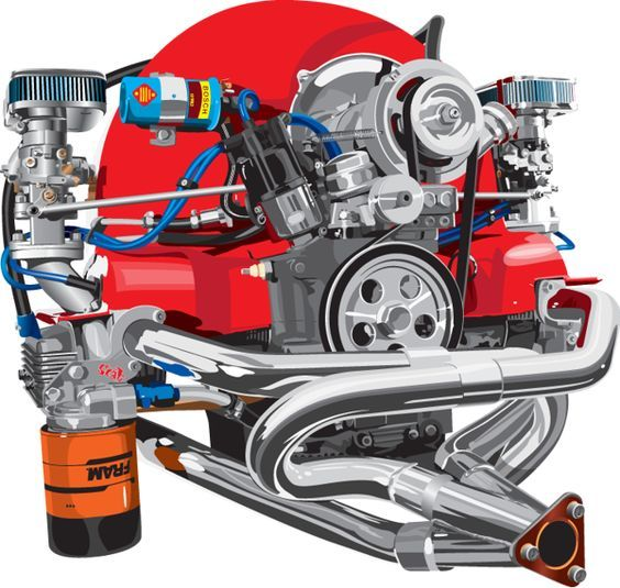 Vw Beetle Engine Install: 55 Best VW Type 4 Engine Conversion Images On Pinterest