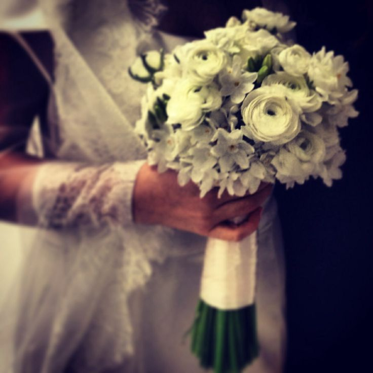 Wedding winter bouquet #bride