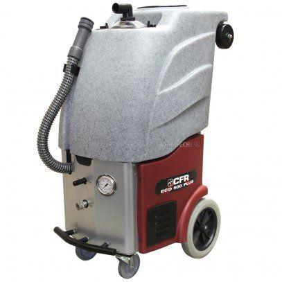 The CFR ECO 500 carpet cleaning machine recyles the water that it uses saving time on refilling the tank and saving water.