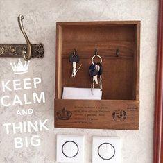 #Banggood Творческий ключ деревянный ящик Sundries ретро крючок для хранения вешалки деревянные держатель стены домашнего декора (1096455) #SuperDeals