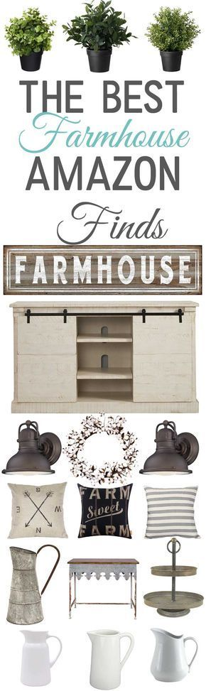 Farmhouse Decor Finds from Amazon-affordable farmhouse decor -www.themountainviewcottage.net
