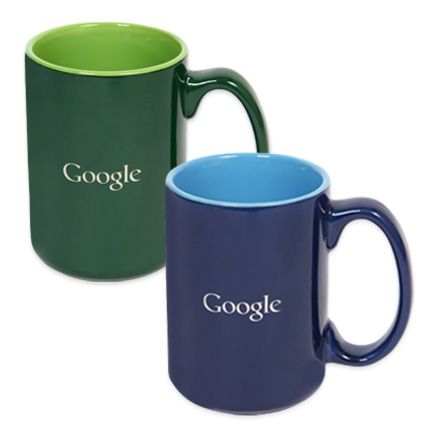 14 oz. Ceramic Google Mug