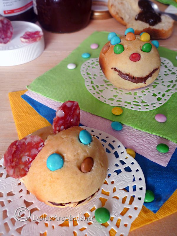 I panini per le feste dei bambini più spiritosi e divertenti da creare insieme a loro  The sandwiches for children's parties more witty and fun to create with them :))