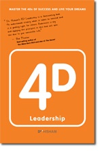 4D Leadership written by Dr. Hisham Abdalla launching May 29, 2013