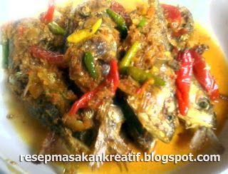 RESEP IKAN KEMBUNG GORENG BUMBU KUNING | Resep Masakan dan Cara Membuat Aneka Kue