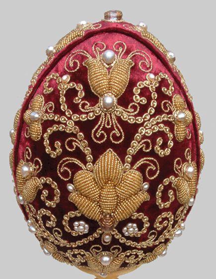 Золотное шитьё. | biser.info - всё о бисере и бисерном творчестве
