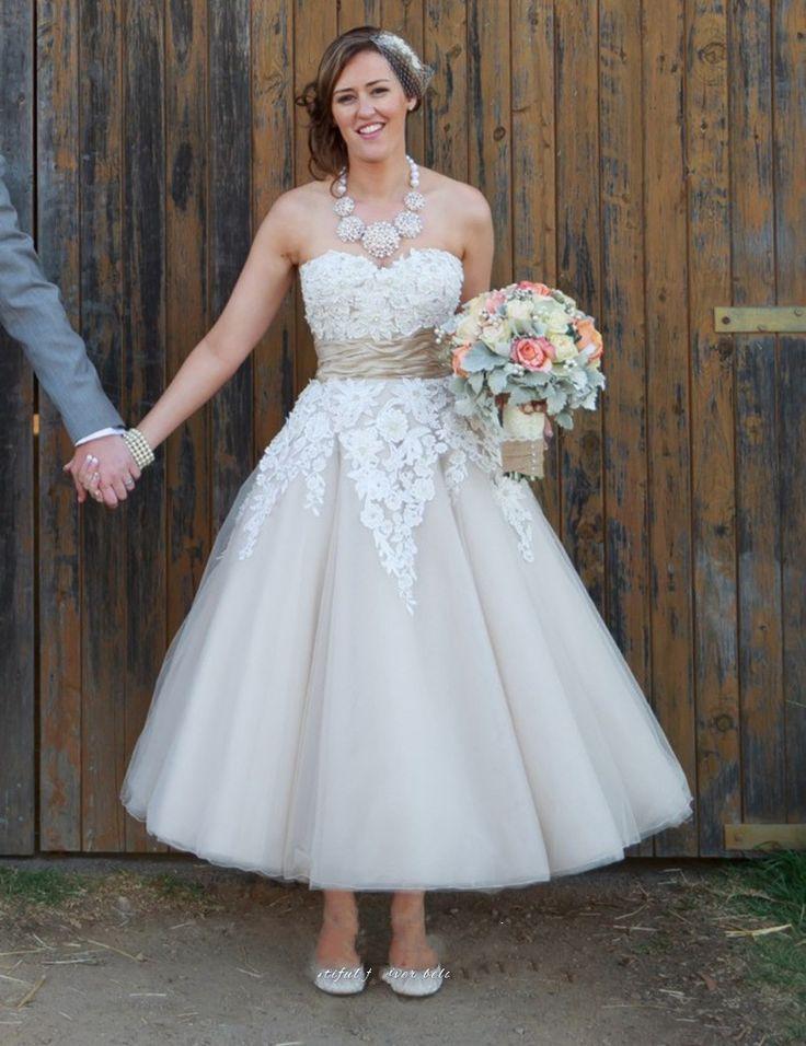 735 best Wedding Dresses images on Pinterest | Wedding frocks, Short ...