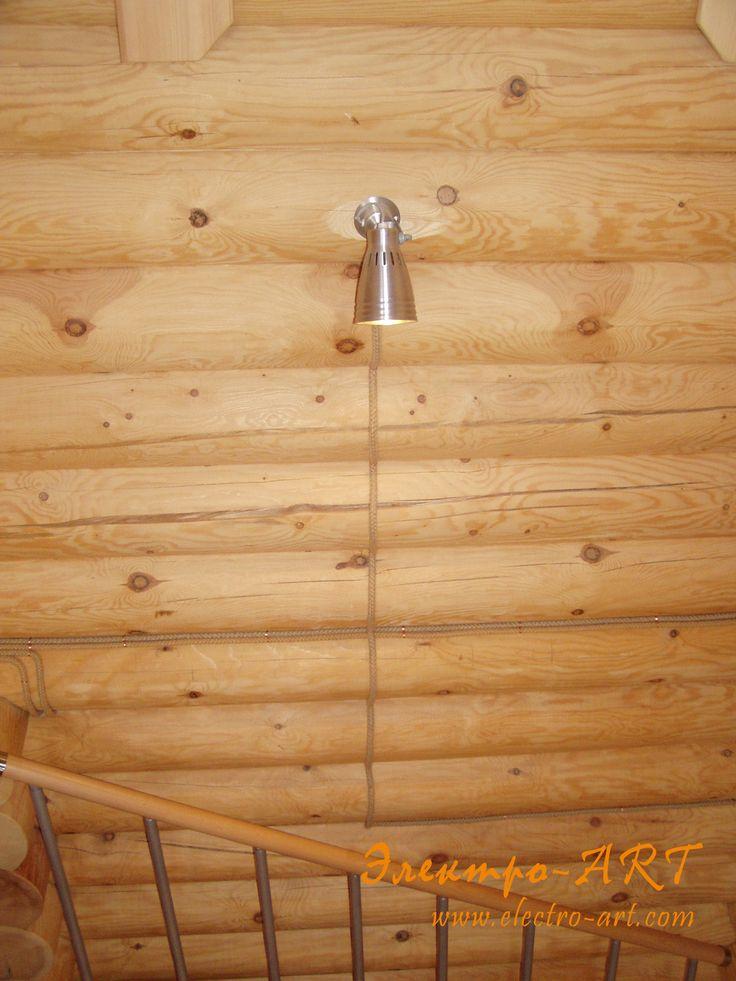 Электрика в деревянном доме спустя год