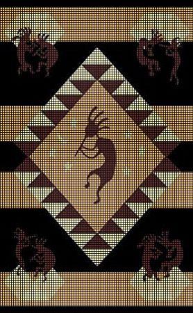 Wayuu Mochila pattern Kokopelli Crochet Pattern