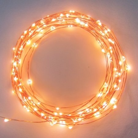 Must have these! Starry Starry Lights - Warm White Color on Copper Wire - 20ft LED String Light - Includes Power Adapter - 2nd Generatin with 120 Individual LEDs: Patio, Lawn & Garden