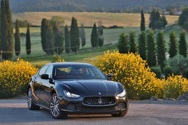New Maserati Ghibli features two Twin-Turbo V6 Engines. New efficient Diesel engine available too